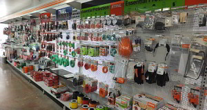 Mower World Accessories Wall