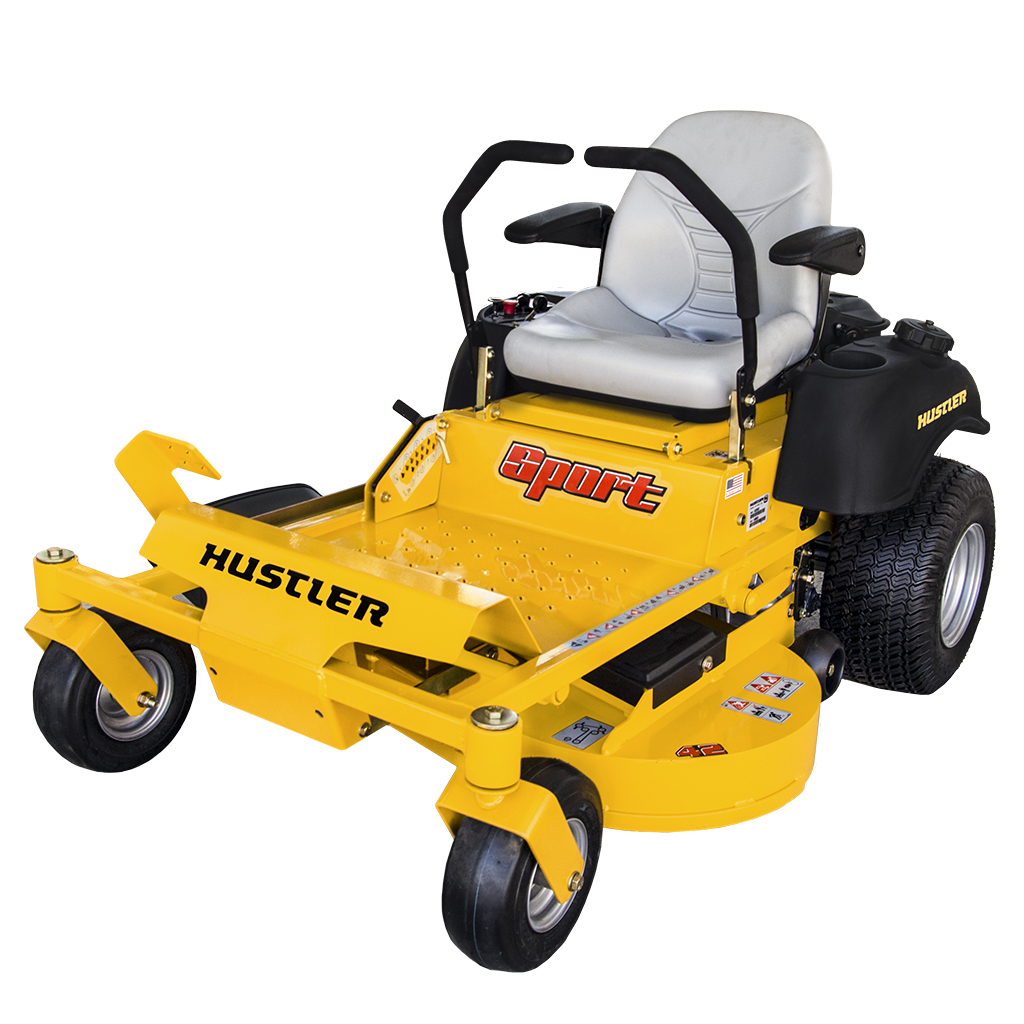 View that hustler mower sport price One lucky